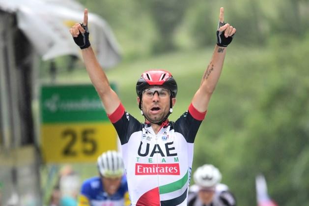 Diego Ulissi rondt teamwerk UAE Emirates af in GP Lugano