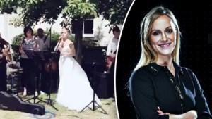 Elisabet van 'De mol' deelt ontroerende video waarin ze zingt op eigen huwelijk
