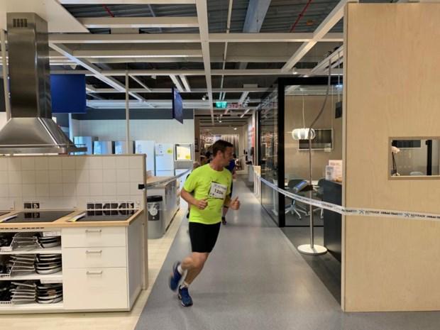 3.000 sportievelingen rennen door Ikea en TVL-studio tijdens Urban Trail Hasselt