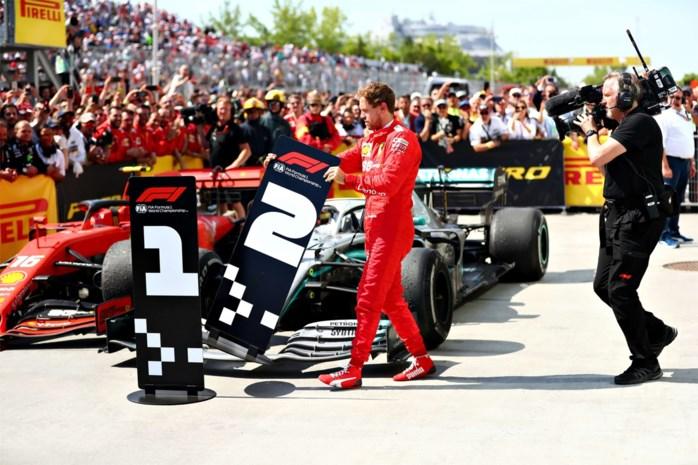 """Lewis Hamilton wint na straf voor razende Vettel: """"Dit is unfair"""""""