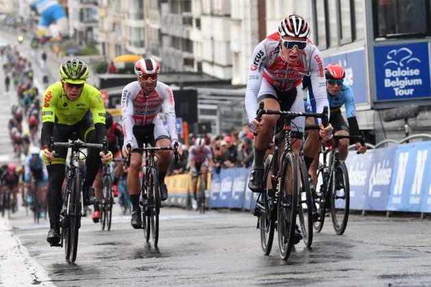 Tim Merlier dankt nieuwe ploeg met tweede plaats in openingsrit Baloise Belgium Tour