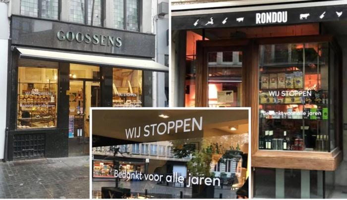 """Vijf iconische winkels kondigen aan te 'stoppen': """"Wat nu? Dit mag niet!"""""""