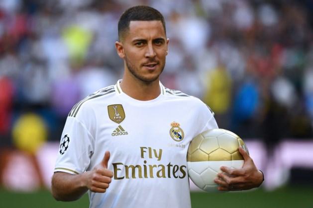 Real Madrid onthult rugnummer van Eden Hazard nog niet
