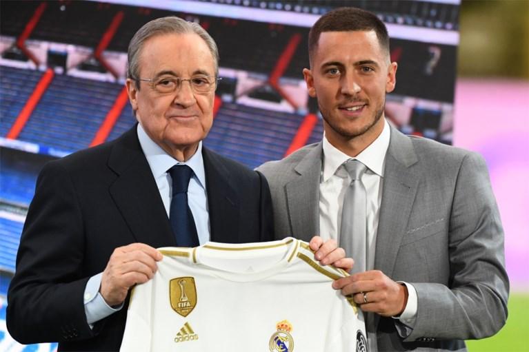 Eden Hazard als koning verwelkomd in Santiago Bernabéu: tienduizenden fans juichen hem toe bij ereronde