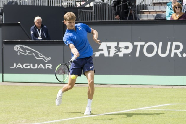 David Goffin geraakt niet voorbij kwartfinales in het Nederlandse Rosmalen