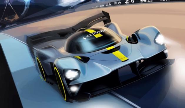 Aston Martin wil met Valkyrie hypercar deelnemen aan 24u Le Mans