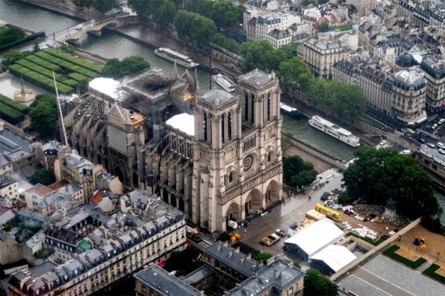 Al miljoenen euro's voor Notre-Dame geschonken