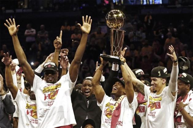 Basketbalgeschiedenis: Toronto Raptors gaan winnen in Oakland en pakken allereerste NBA-kampioenschap