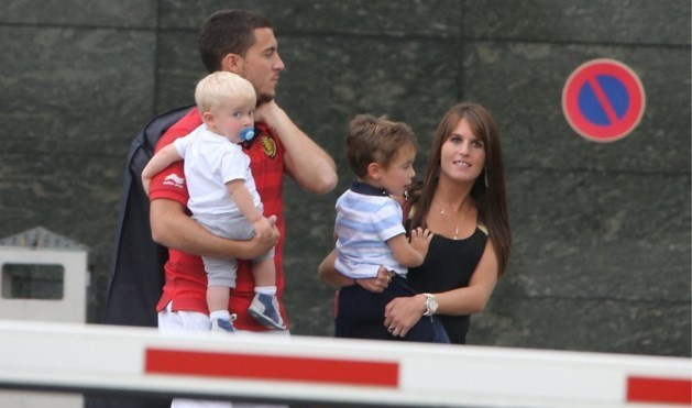 Vierde zoontje op komst voor Eden Hazard