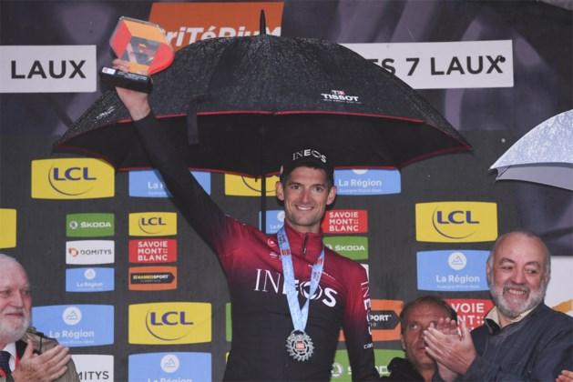 Wout Poels draagt zege in Dauphiné op aan onfortuinlijke Chris Froome