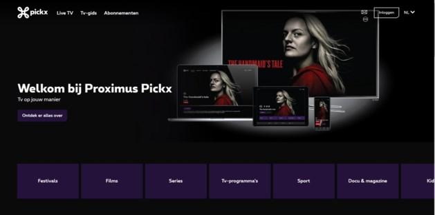 Alle grote zenders verklaren Proximus de oorlog: geen deal voor nieuw platform Pickx