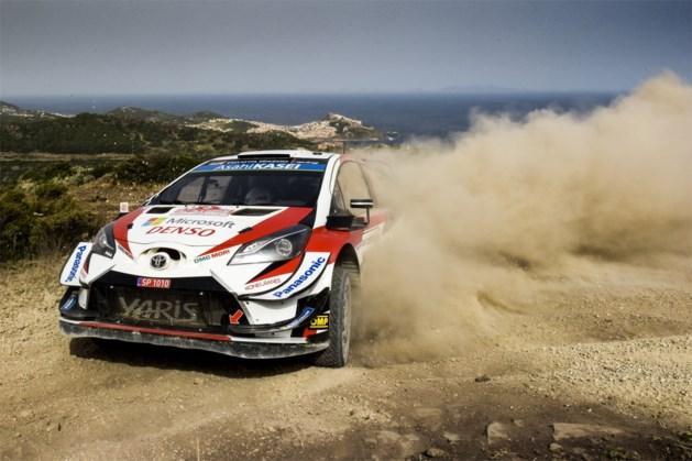 Tänak neemt leiding over in Rally van Sardinië, Neuville mag goed resultaat vergeten