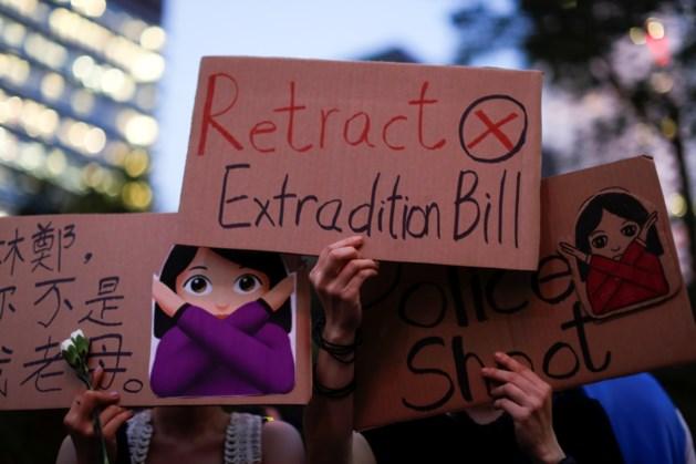 "Uitstel is geen afstel, maar manifestanten Hongkong halen slag thuis: ""Omstreden uitleveringswet uitgesteld"""