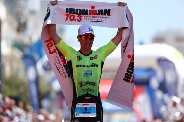 Frederik Van Lierde wint de Ironman 70.3 van Les Sables d'Olonne en is klaar voor 'zijn' Nice