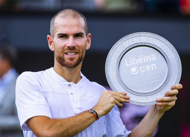 Adrian Mannarino boekt in het Nederlandse Rosmalen eerst toernooizege uit zijn carrière