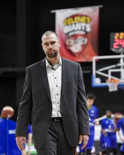 Succescoach Roel Moors verlaat Antwerp Giants, assistent Christophe Beghin neemt over