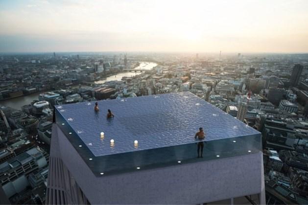 Zwemmen op het dak van een wolkenkrabber? Het kan binnenkort in Londen