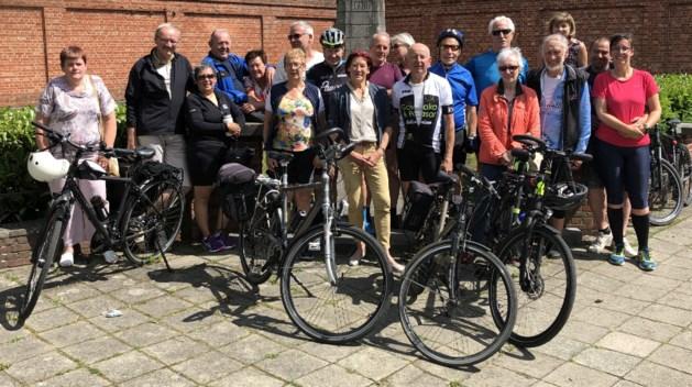 KWB sluit fietsproject af met rit van 100 kilometer