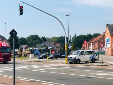 Koolmijnlaan in Beringen een uur zonder stroom