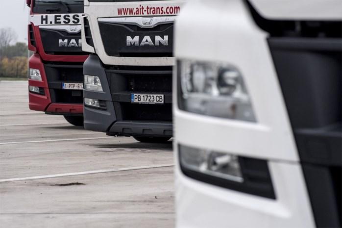 Drie Oekraïense vrachtwagenchauffeurs gearresteerd voor diefstal