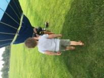Jules vaart met de luchtballon