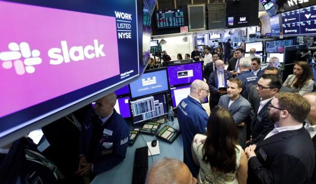 Slack zet eerste stappen op de beurs