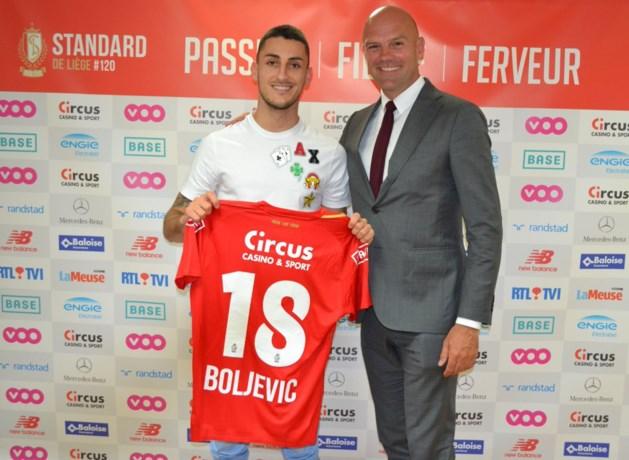 Aleksandar Boljevic officieel voorgesteld bij Standard: hij moet Djenepo doen vergeten