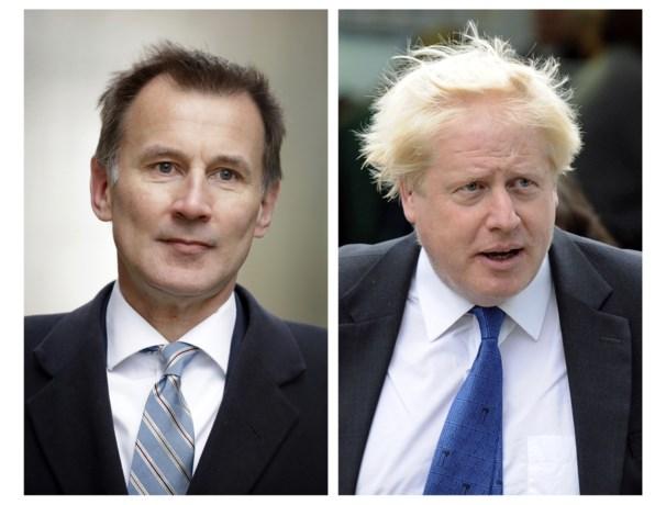 Johnson en Hunt strijden voor het leiderschap bij de conservatieven