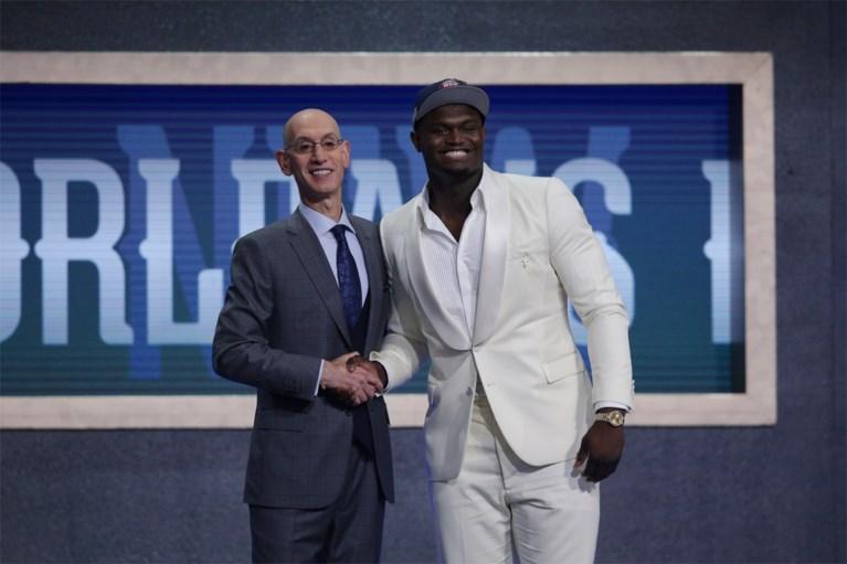 Nieuw toptalent Zion Williamson als eerste gekozen in NBA draft: New Orleans Pelicans zijn de gelukkigen