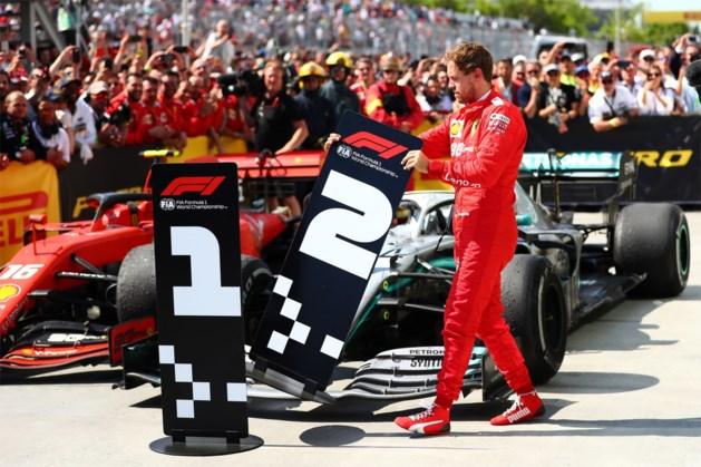 Tijdstraf Vettel zindert na: Ferrari laat klacht bij FIA vallen, maar plant nog juridische stappen