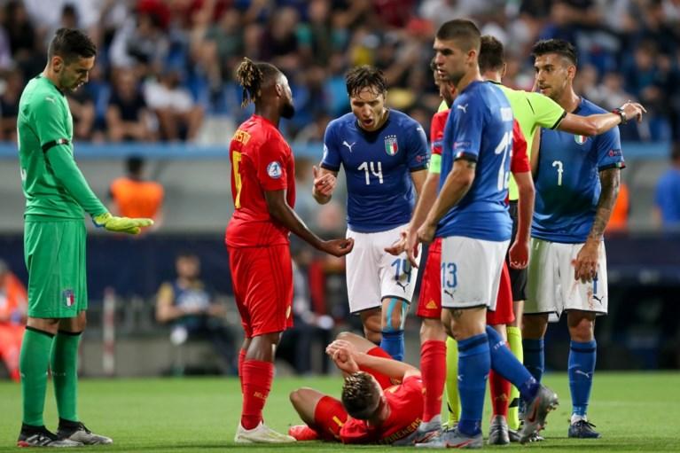Jonge Duivels verliezen ook van gastland Italië en verlaten EK U21 met 0 op 9 ondanks heerlijke goal Yari Verschaeren