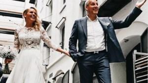 Pas getrouwd, maar huwelijksreis zit er voorlopig niet in voor Gert en Ellen