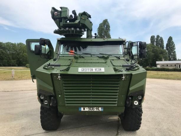 Dit zijn de nieuwe pantserwagens voor het Belgische leger