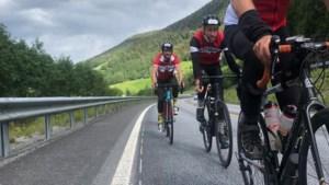 Zes van de zeven Hasseltse fietsers halen de meet in Noorwegen