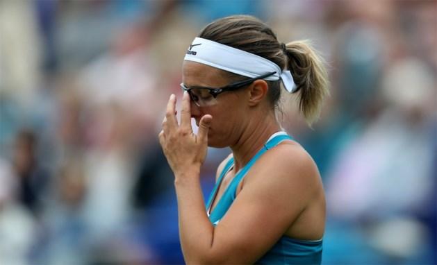 Kirsten Flipkens niet voorbij Caroline Wozniacki, de titelverdedigster in Eastbourne