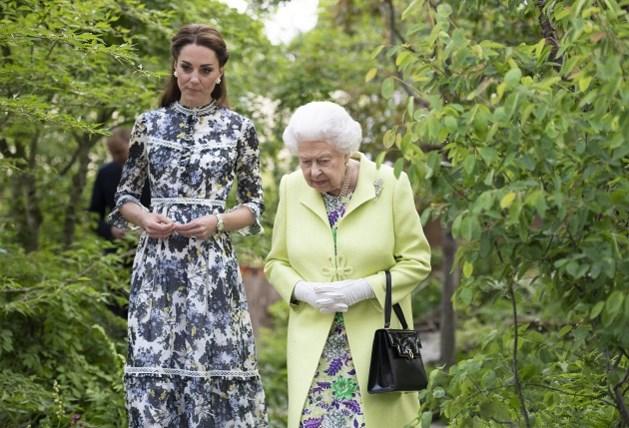 Kate Middleton neemt een nieuwe taak over van de Queen