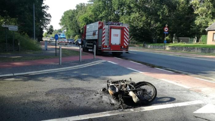 Motard niet meer in levensgevaar na botsing op kruispunt in Hechtel