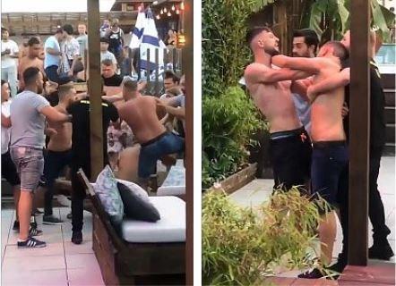 Grote vechtpartij in zomerbar Ipanema in Hasselt