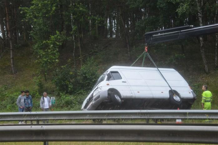 Verkeershinder op E314 na verschillende ongevallen