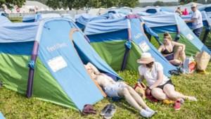Eerste kampeerders komen aan op Rock Werchter:
