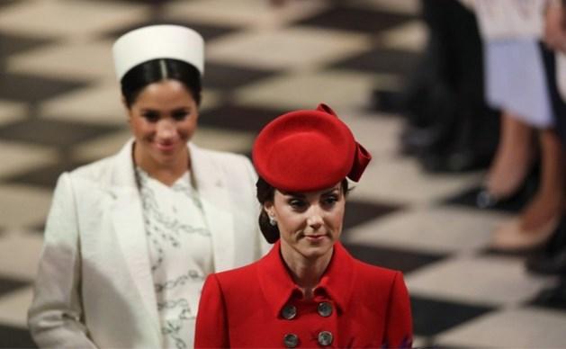Opnieuw ruzie tussen Kate Middleton en Meghan Markle