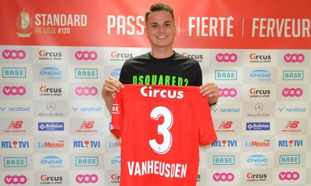 Recordtransfer van Zinho Vanheusden naar Standard is afgerond