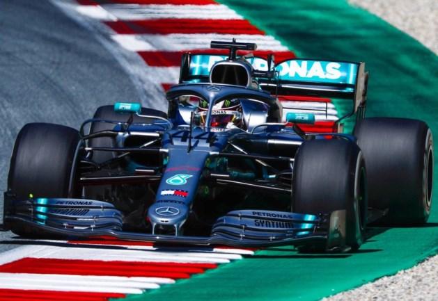 Lewis Hamilton bestraft met gridpenalty voor GP van Oostenrijk