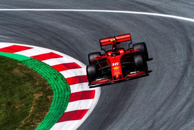 Drama voor Vettel, gridstraf voor Hamilton en pole voor Charles Leclerc in Oostenrijk
