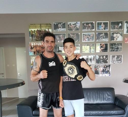 Opnieuw goud voor Angelo Caldara op de Open Youth Championships