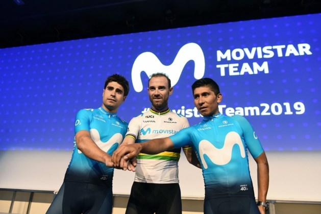 Movistar mikt met Alejandro Valverde, Nairo Quintana en Mikel Landa op eindzege Tour de France