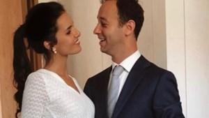 Ex-Miss België Romanie Schotte getrouwd met broer van Louis Talpe
