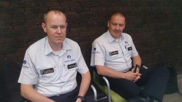 Korpschef Ronin Cox van politie Voeren naar de politiezone Maasland