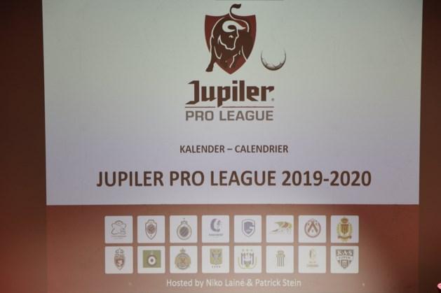 Genk-Kortrijk is openingsaffiche Jupiler Pro League, op vijfde speeldag volgt eerste topper