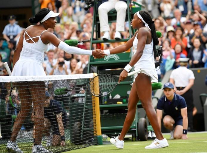 WIMBLEDON. 15-jarige sensatie klopt Venus Williams, nummer twee van de wereld bij de vrouwen meteen uitgeschakeld